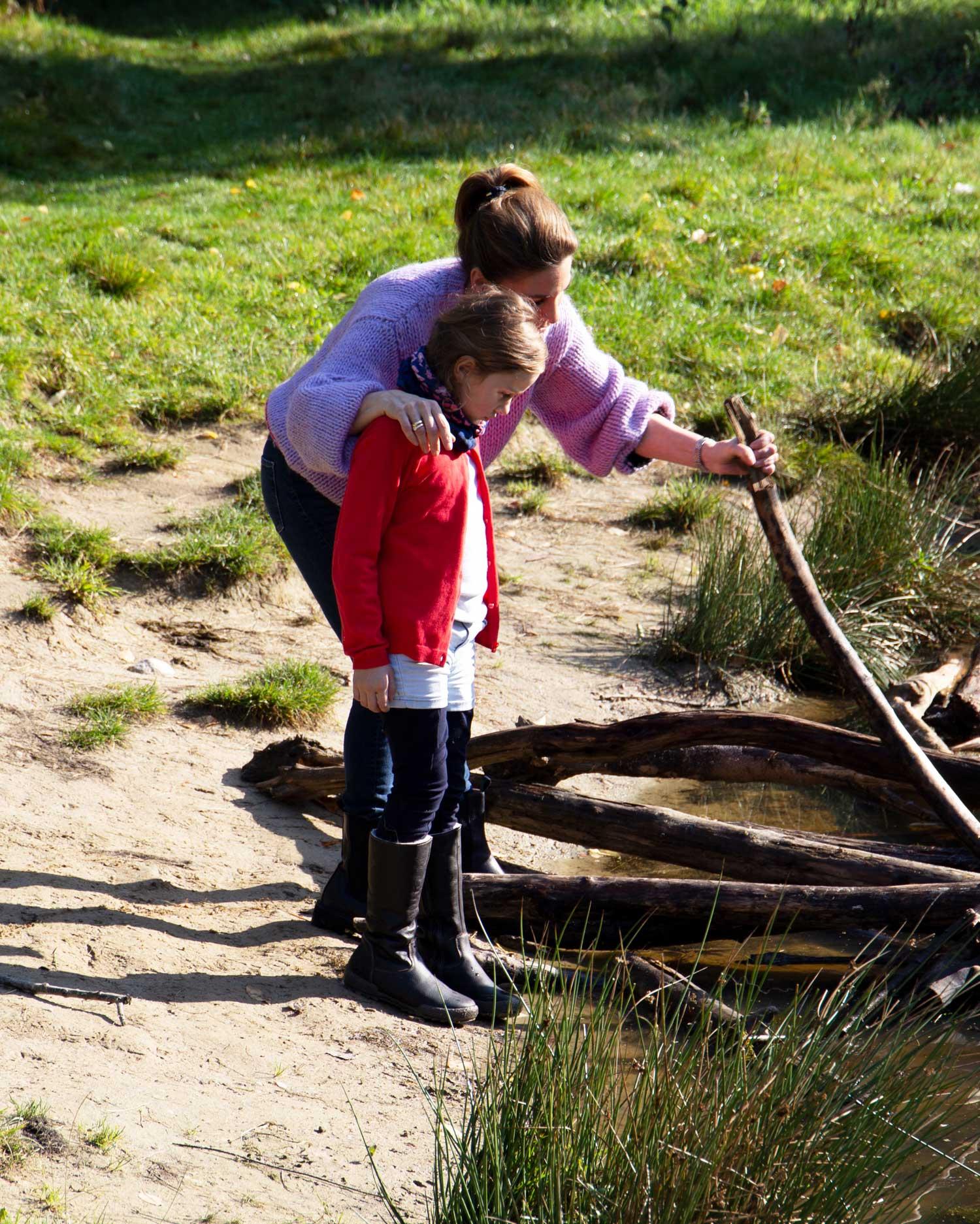 Tanja Renner und ihre Tochter