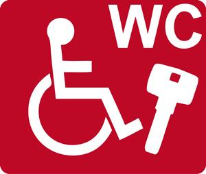 Der Euro-WC-Schlüssel: Zugang zu Behinderten WCs