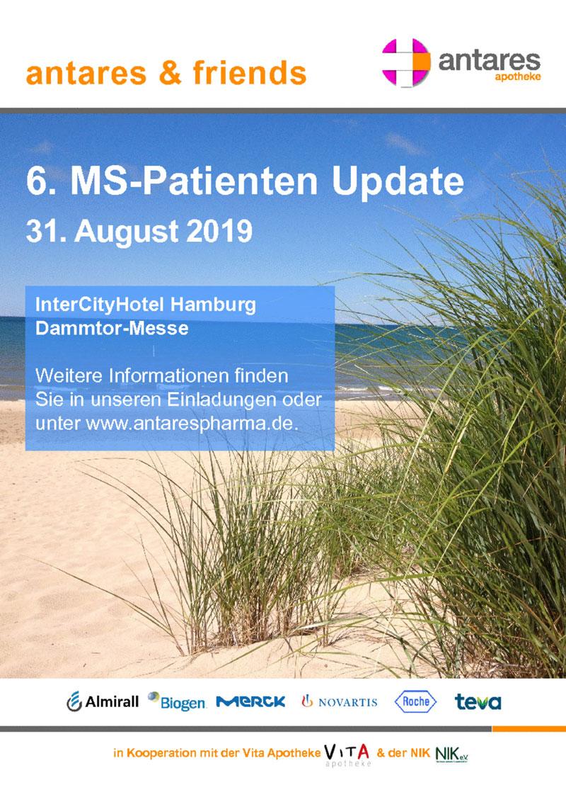 antares & friends beim 6. MS-Patienten Update