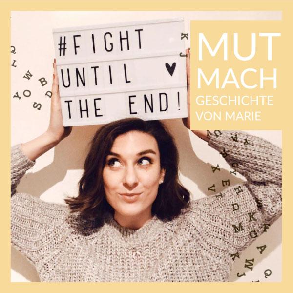 Mut-Mach-Geschichte Maria - DIAGNOSE SCHUPPENFLECHTE