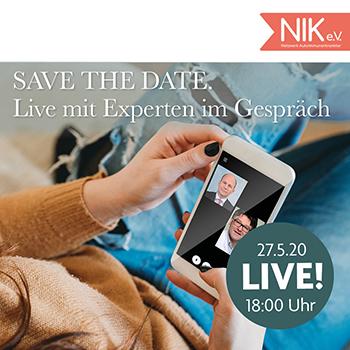 NIK e.V. - live mit Experten im Gespräch - Lupus: Fakten, Mythen und Prognose