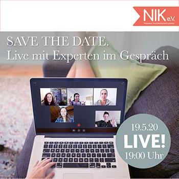 NIK e.V. - live mit Experten im Gespräch - Corona Aktuell