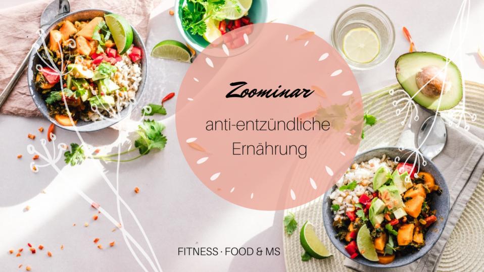 """Zoominar """"anti-entzündliche Ernährung"""" - 19.11.2020, 19:00"""
