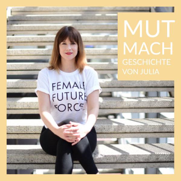 Mut-Mach-Geschichte von Julia - Schuppenflechte