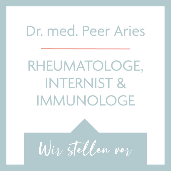 Dr. Peer M. Aries, Rheumatologe in Hamburg